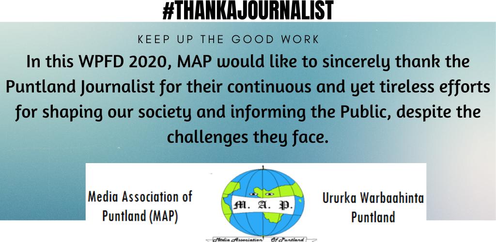 THank A journalist
